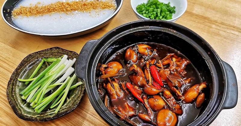 Cách nấu cháo ếch Singapore đơn giản