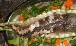 Cách làm món cá lóc hấp bầu vừa ngon lại dễ làm tại nhà 2