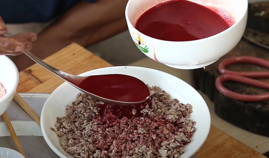 Cách hãm tiết canh vịt dễ làm mà ngon miệng - 3