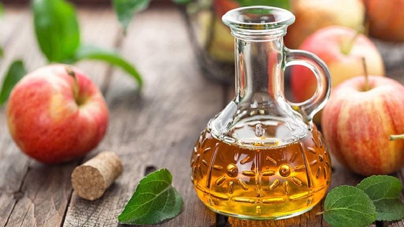 Giấm táo có tác dụng giảm cân, kháng viêm