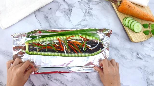Cách làm món cá lóc hấp bầu vừa ngon lại dễ làm tại nhà 3
