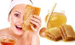 Tác dụng của mật ong là giúp chăm sóc da mặt