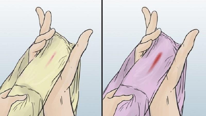 Xuất hiện dịch nhầy đỏ là dấu hiệu sắp sinh