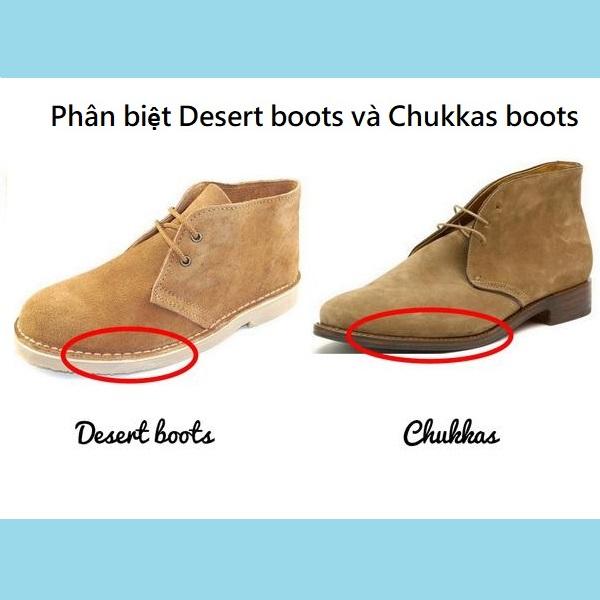 Desert Boots và Chukka Boots