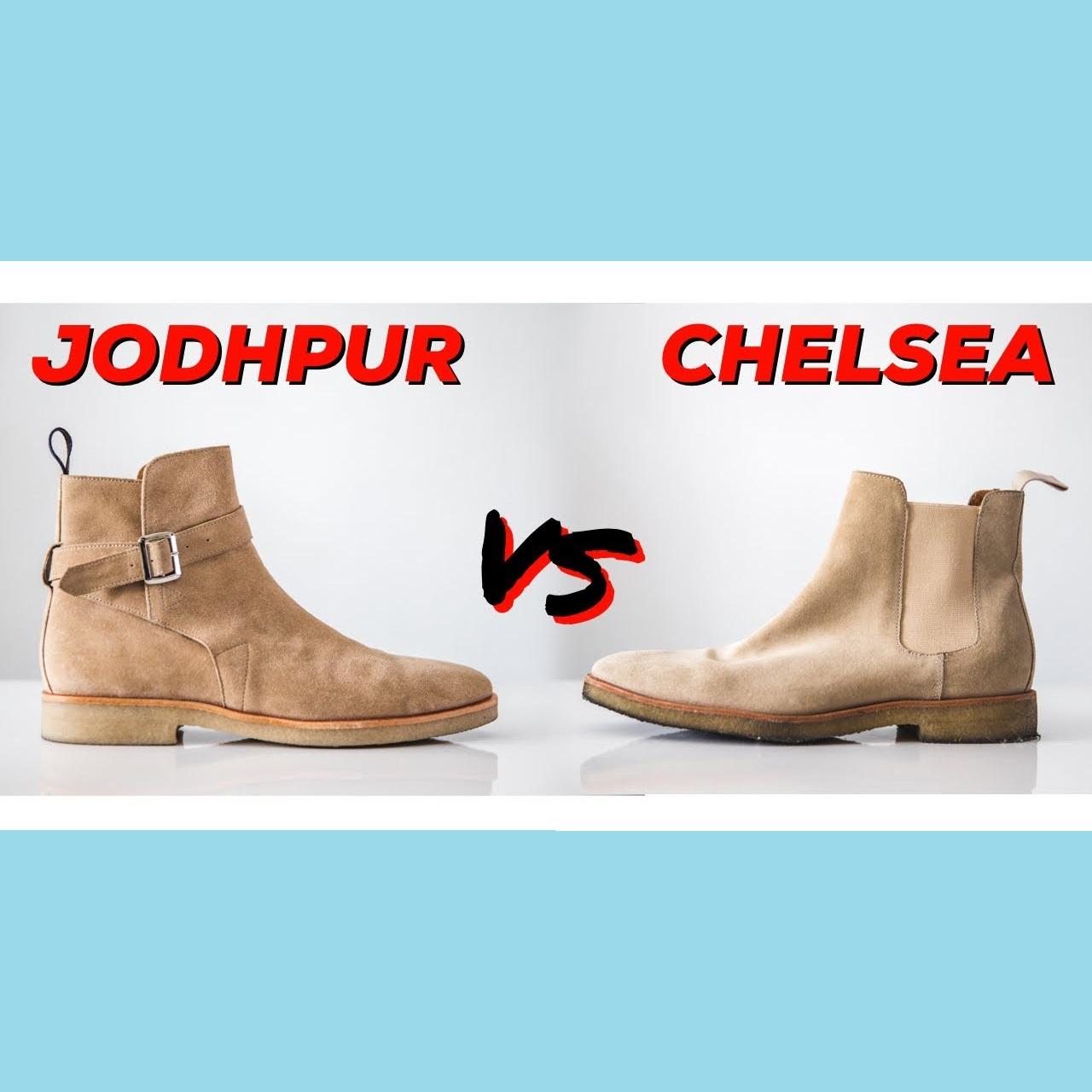 Jodhpur Boots và Chelsea Boots