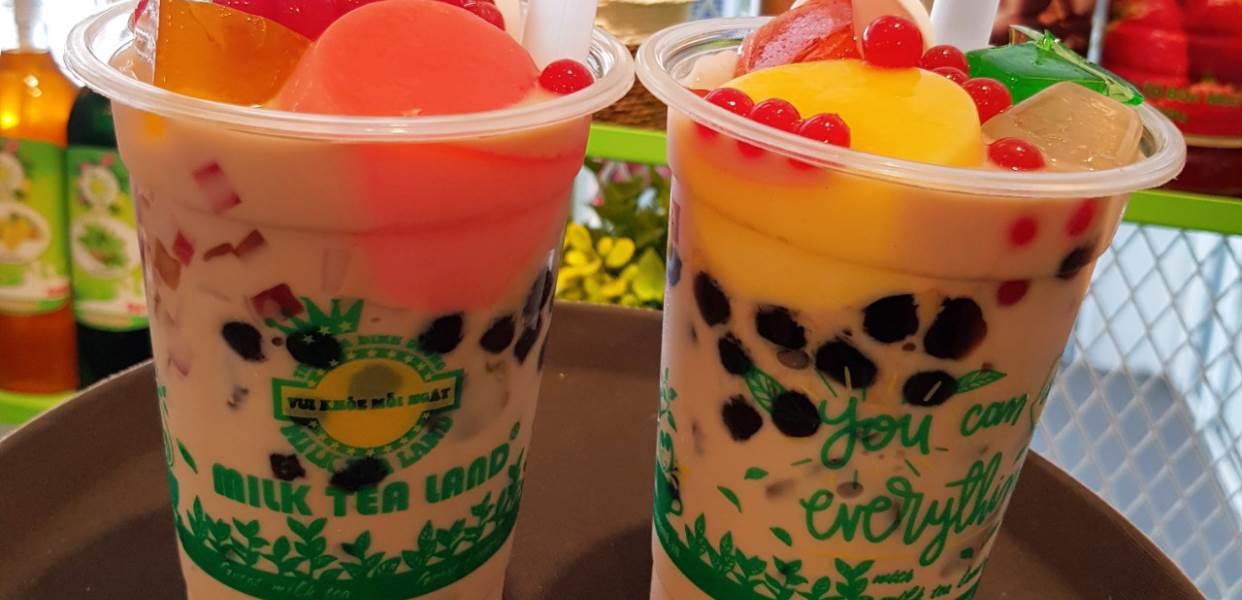 Top 10 quán trà sữa Gò Vấp view đẹp check - in cực chất 7