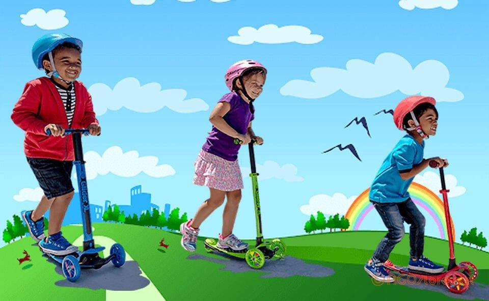 Xe trượt Scooter cho bé từ 3 đến 5 tuổi