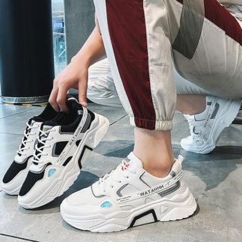 Giày Thể Thao Nam Sneakers Phong Cách Hàn Quốc Cực Ngầu GN90