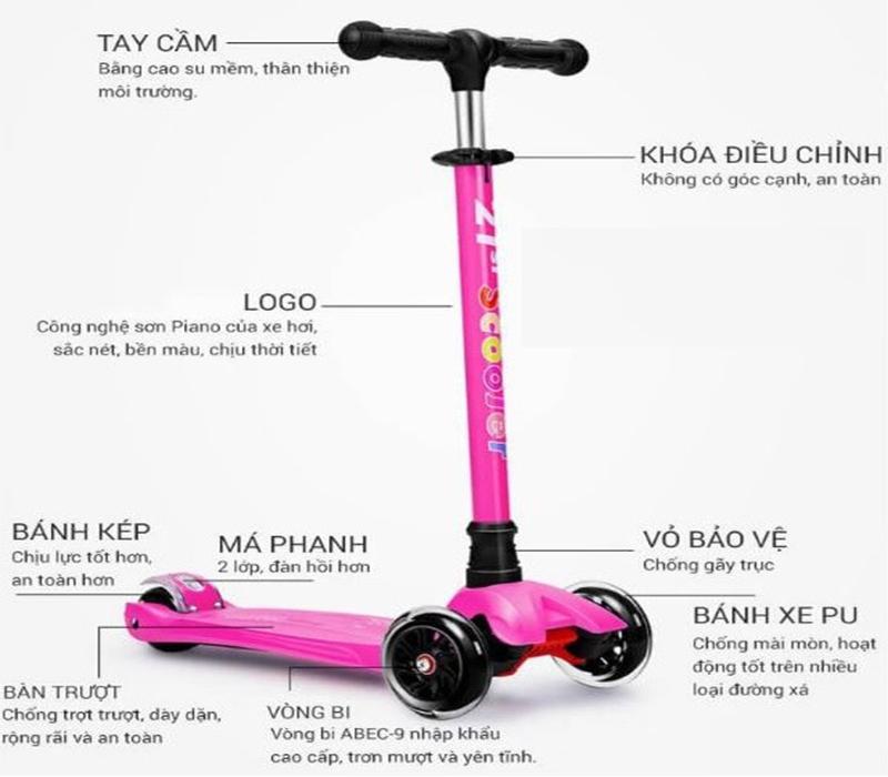 Các tiêu chí chọn mua xe trượt Scooter