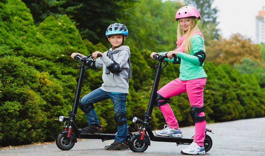 Hướng dẫn sử dụng xe trượt Scooter cho bé
