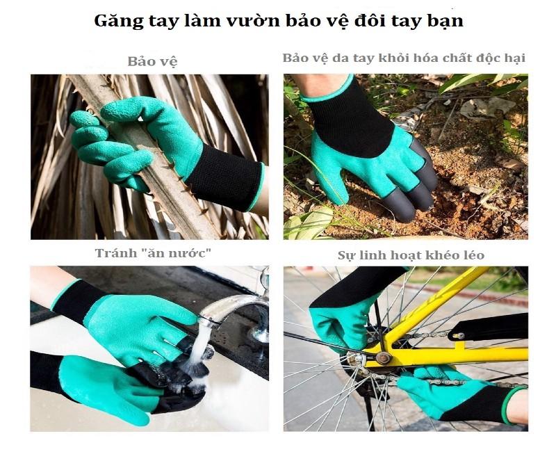 Lợi ích khi sử dụng găng tay làm vườn