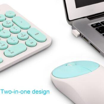 Bộ bàn phím không dây Forter IK6630