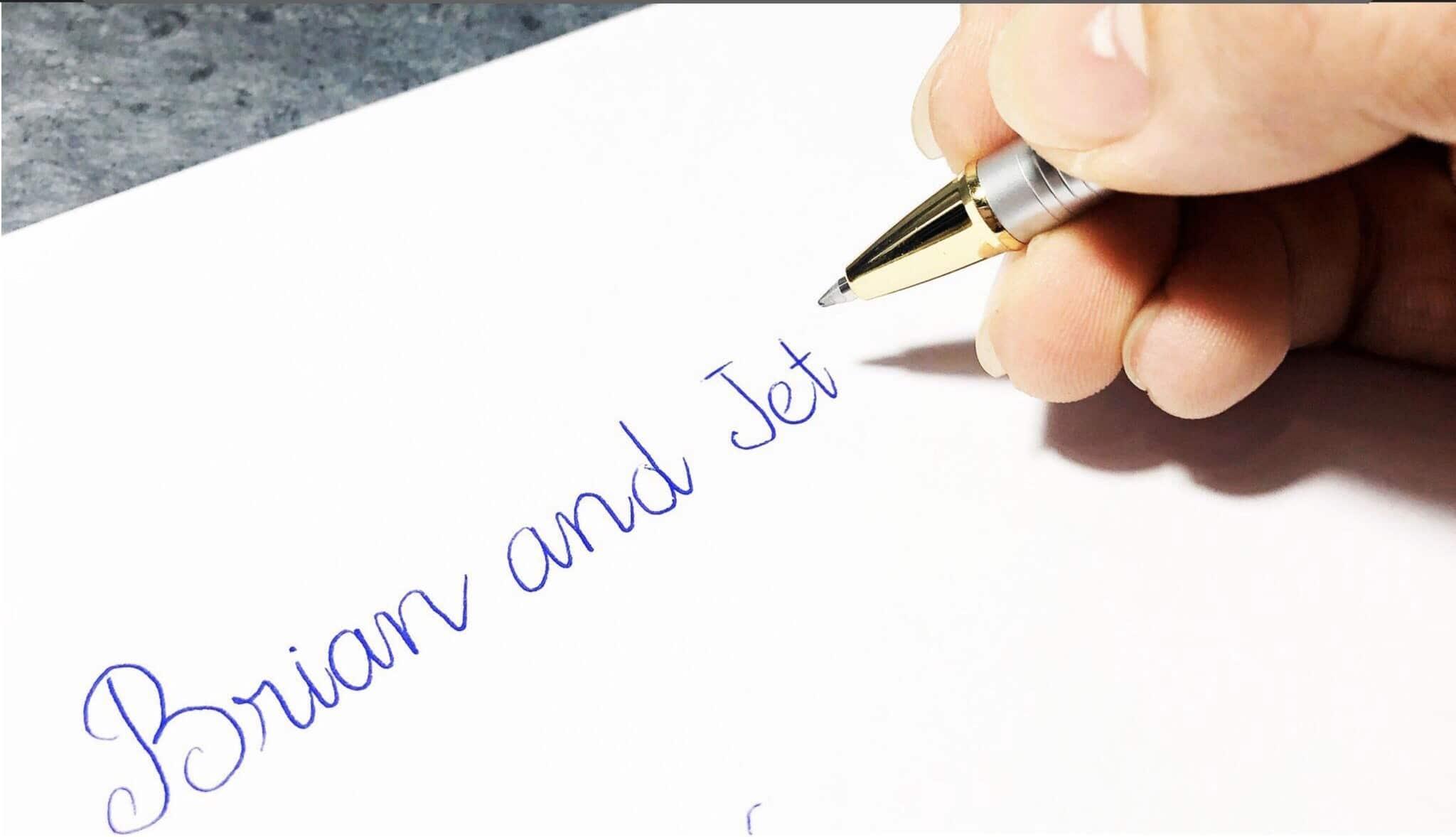 Nét viết bút ký BJ003