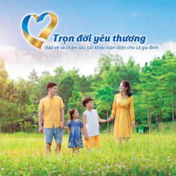 Gói bảo hiểm nhân thọ Bảo Việt Trọn đời yêu thương