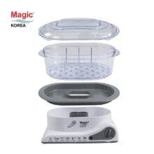 Máy hấp thực phẩm đa năng 03 tầng Magic Korea A61