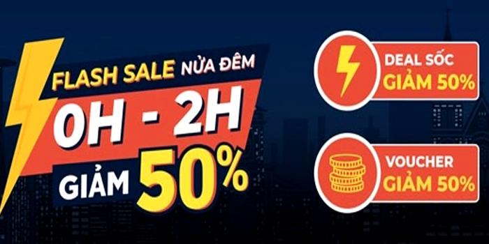 Flash sale lúc nữa đêm