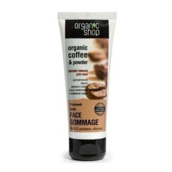 Kem tẩy tế bào chết mặt Organic Coffee & Powder
