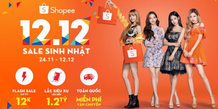 Đại tiệc sinh nhật Shopee
