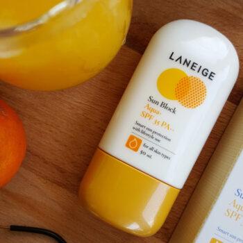 Kem chống nắng Laneige Sun Block Aqua+ SPF35 PA++