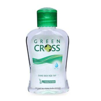 Nước rửa tay khô Green Cross hương trà xanh