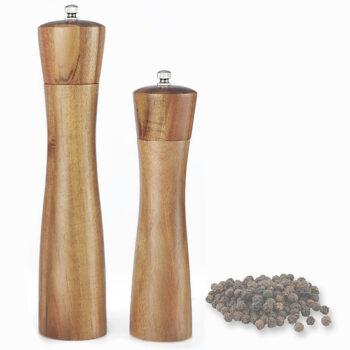 Dụng cụ xay hạt tiêu vỏ gỗ tự nhiên (GA07)