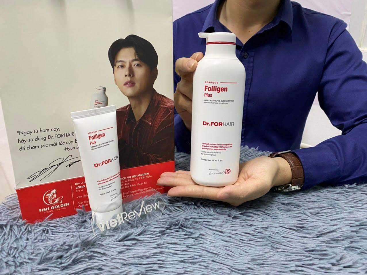 Dầu gội đầu Dr.FORHAIR có thực sự ngăn ngừa rụng tóc như quảng cáo? - 6