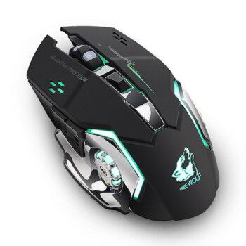 Chuột không dây chuyên game pin sạc Free Wolf X8