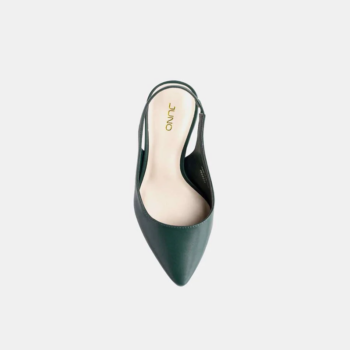 Giày JUNO cao gót slingback mũi nhọn gót thanh CG09112