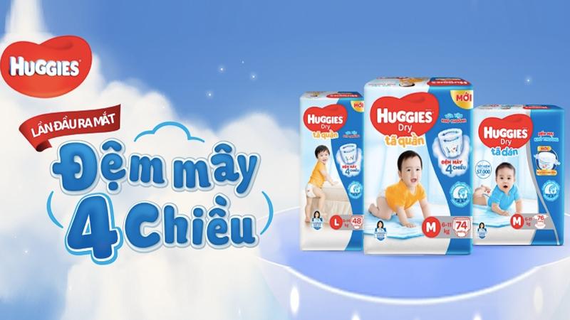 Huggies thương hiệu đến từ Mỹ
