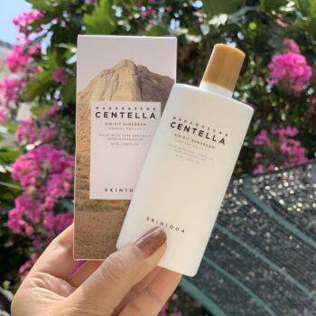 Kem chống nắng Skin 1004 Madagascar Centella Air-fit Suncream SPF50+ PA++++