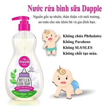 Nước Rửa Bình Sữa Dapple
