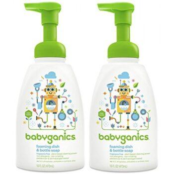 Nước rửa bình sữa Babyganics