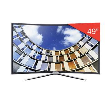 Smart tivi màn hình cong Samsung UA49M6303