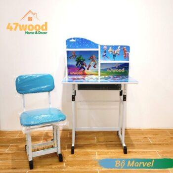 Bộ bàn ghế trẻ em tăng chỉnh độ cao