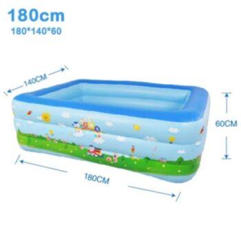 Bể Bơi 3 Tầng Hình Chữ Nhật