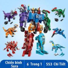 Đồ chơi lắp ráp trẻ em Robot Chiến Binh Sura