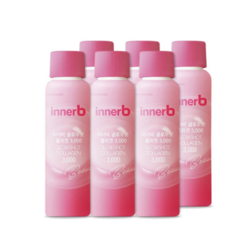 Nước uống Collagen Vitamin C sáng da InnerB Glowshot