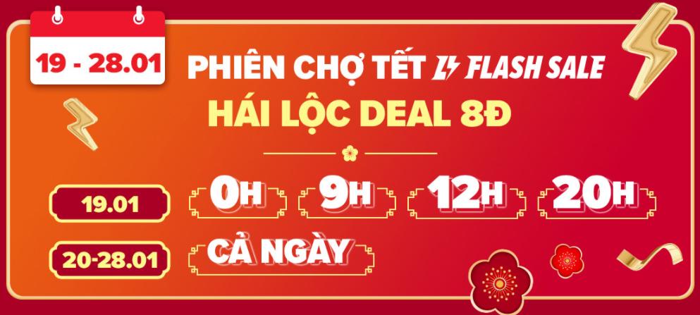 Hái lộc Deal 8k