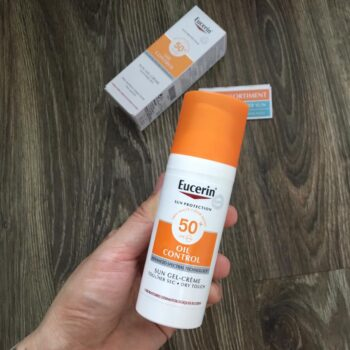 Kem chống nắng Eucerin Sun Gel Cream Oil Control Dry Touch
