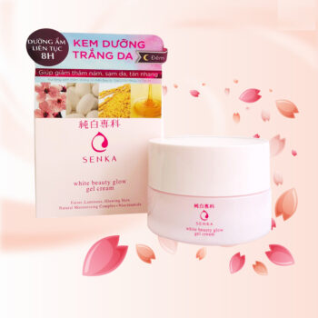 Kem dưỡng trắng da Senka White Beauty Glow Gel Cream