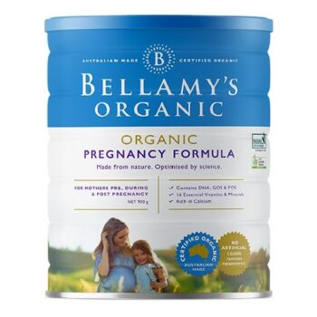 Sữa Công Thức Cho Mẹ Bầu và Cho Con Bú Bellamy's Organic