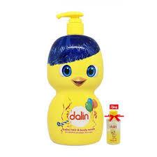 Sữa tắm gội toàn thân cho bé Dalin