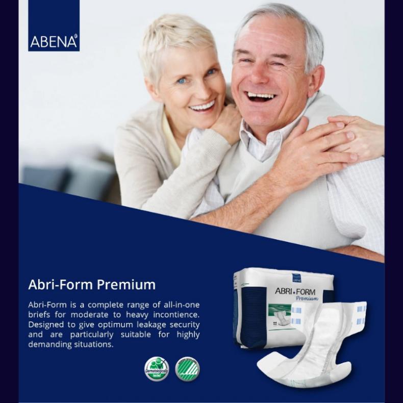Abri–form Premium dành cho những người thiếu tự chủ bài tiết