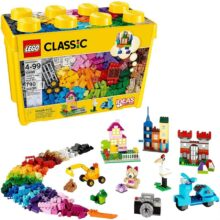 Bộ lắp ráp thùng gạch lớn Classic sáng tạo LEGO CLASSIC