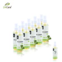 Xịt phòng tinh dầu sả chanh hữu cơ Organic 24Care