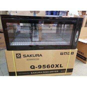 Máy sấy chén bát và diệt khuẩn tự động SAKURA Q-9560XL