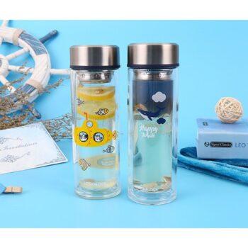 Bình nước thủy tinh chịu nhiệt Lock & Lock LLG627