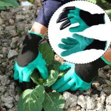 Găng tay làm vườn chuyên dụng có móng vuốt 3a
