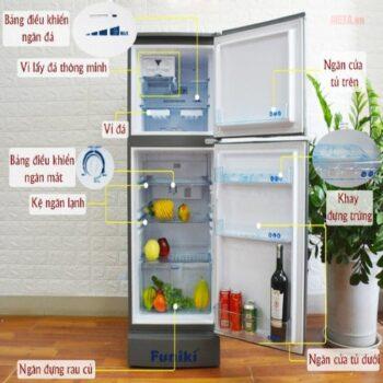 Tủ lạnh Funiki Hòa Phát FR 132CI