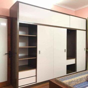 Tủ áo chung cư cánh lùa Juno Sofa